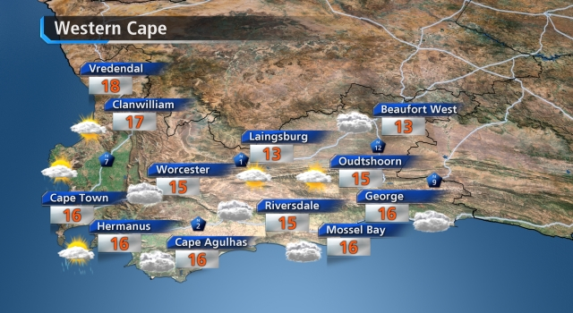 W. Cape weather forecast day after tomorrow - loading.....